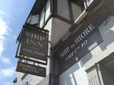 The Ship Inn sign