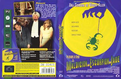 Carátula dvd: La maldición del escorpión de jade / Película / Descargar / Online