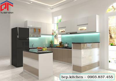 tu bep, nội thất bếp,. tủ bếp acrylic, tủ bếp đẹp