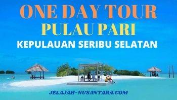 paket open trip satu hari pulau pari