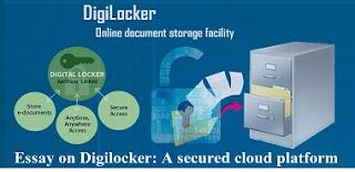 Essay on Digilocker: A secured cloud platform