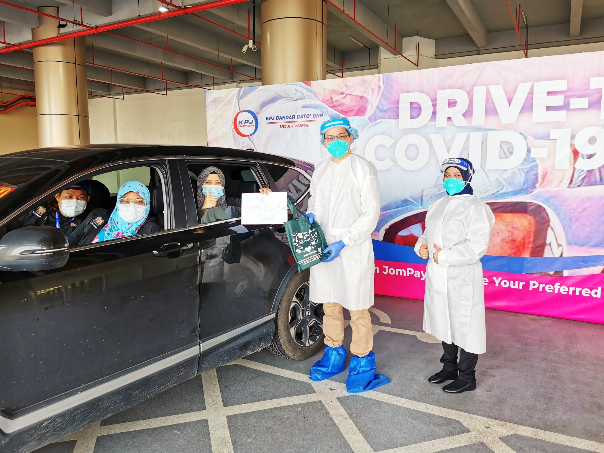 KPJ Provides Covid-19 PCR Tests for Social Heroes