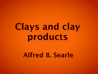 Clays and clay products