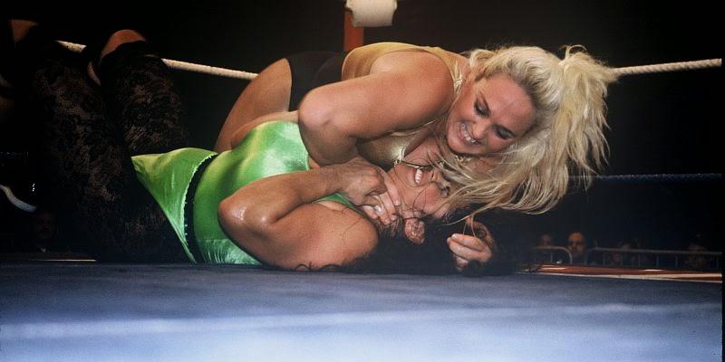Leilani Kai-reggie bennett-women's pro wrestling