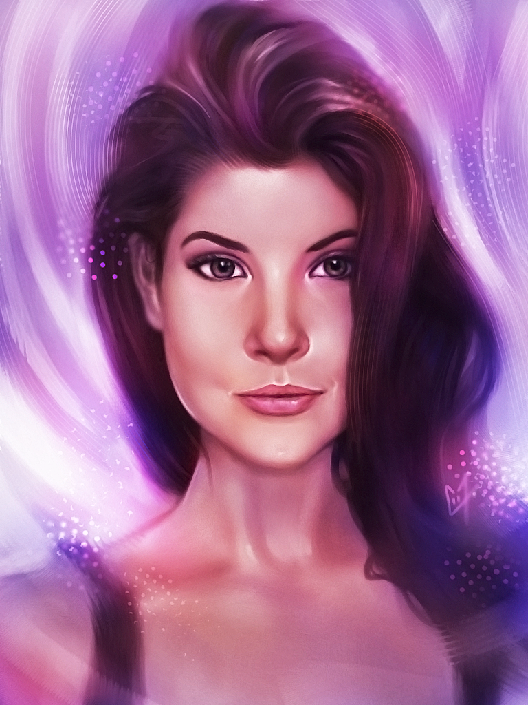 Portrait Digital d'Amanda Cerny
