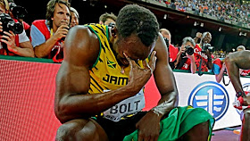 Usain Bolt defeated for the first time in a decade