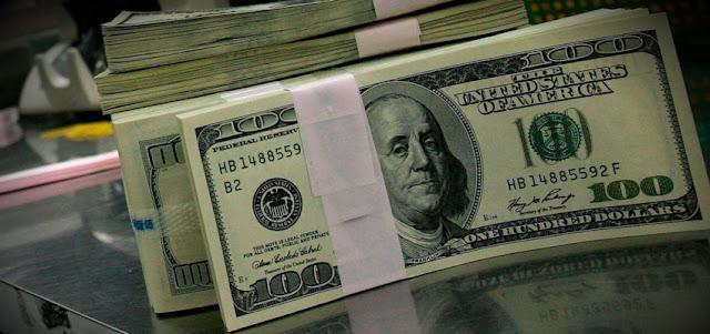 Dólar paralelo abre este lunes 5 sobre los Bs.13.000 y el oficial en Bs.11.939,71