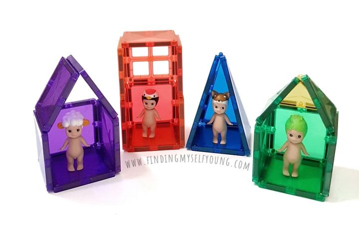 connetix mini doll houses for sonny angels