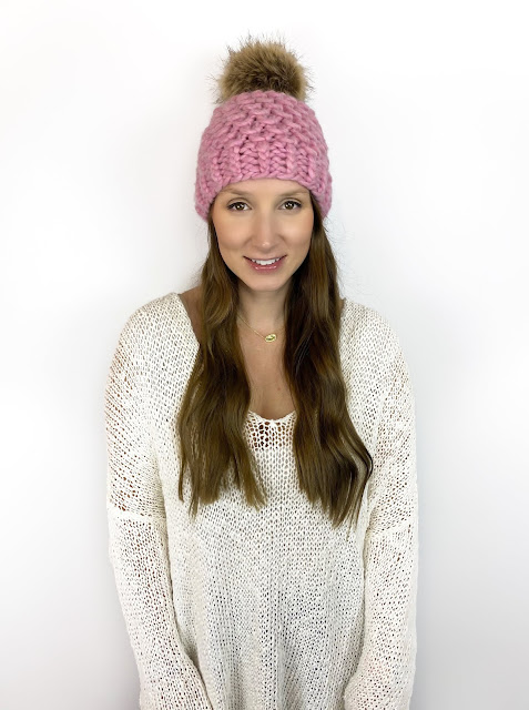 SMILE & WAVE BEANIE - PDF PATTERN