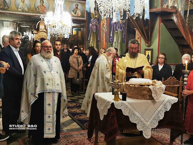 """Στα Λαγκάδια ο ο βυζαντινός χορός """"Άγιος Πέτρος Επίσκοπος Άργους"""""""