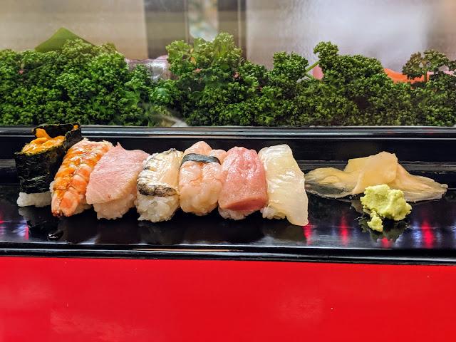 What to do in Kanazawa City Japan: eat sushi at Takasakiya Sushi