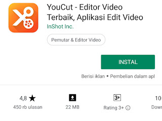 aplikasi editing video android youcut