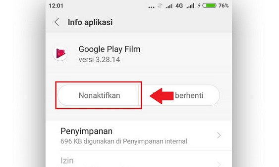 Cara Mengaktifkan Aplikasi Yang Dinonaktifkan Di Android