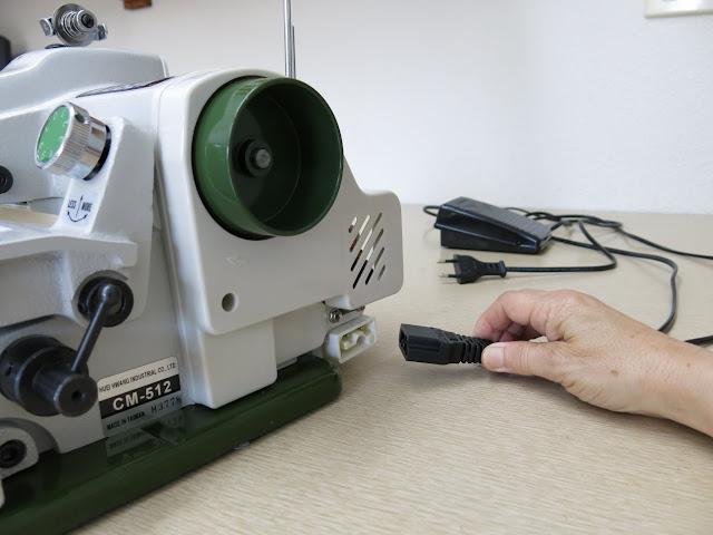 motor petaca para máquina de coser