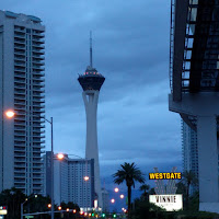 Dreary skies over the Stratosphere | Las Vegas, NV