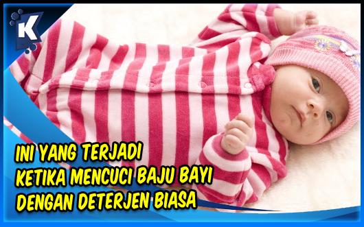 Ini yang Terjadi Ketika Mencuci Baju Bayi dengan Deterjen Biasa