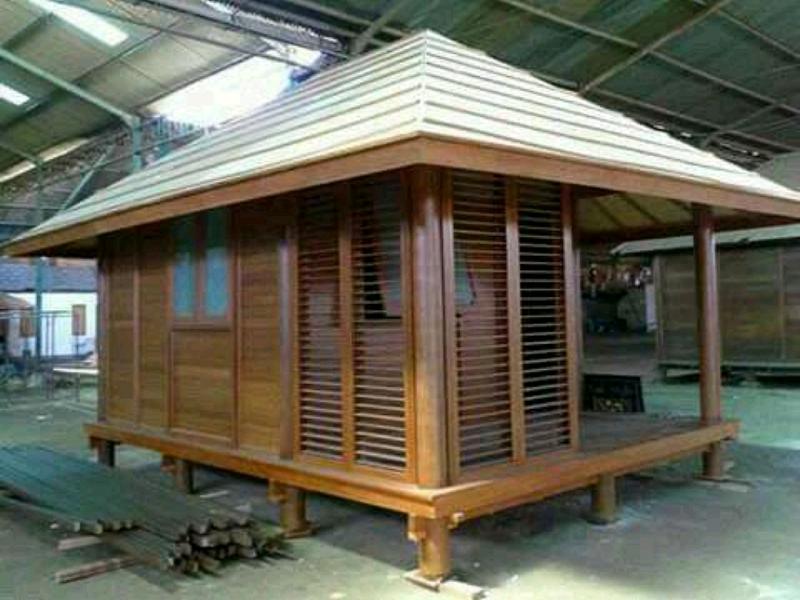 rumah kayu glugu