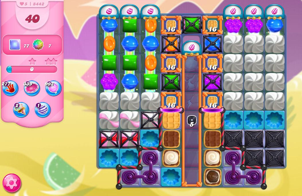 Candy Crush Saga level 8442
