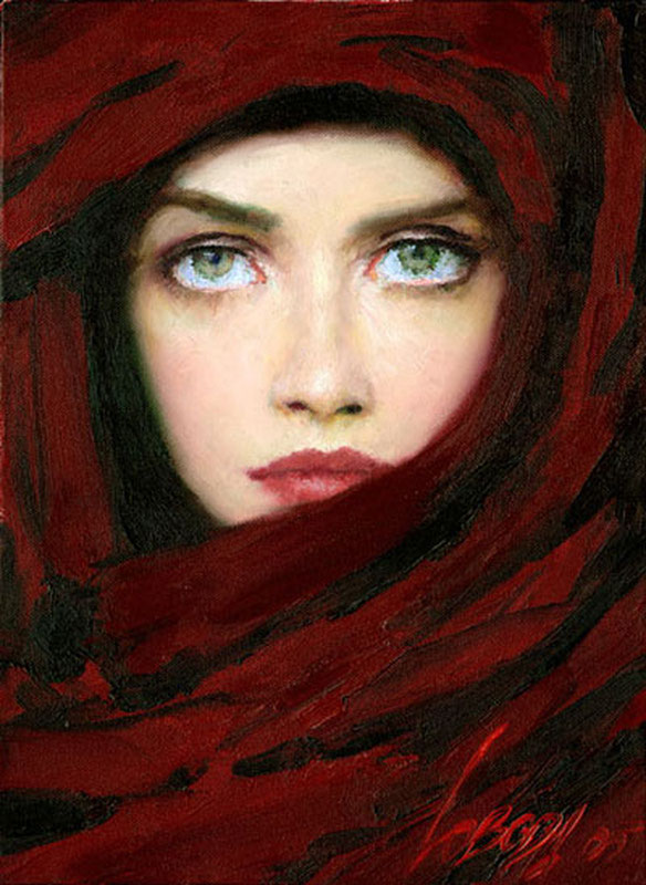 Taras Loboda 1961 | Ukrainian Portrait painter