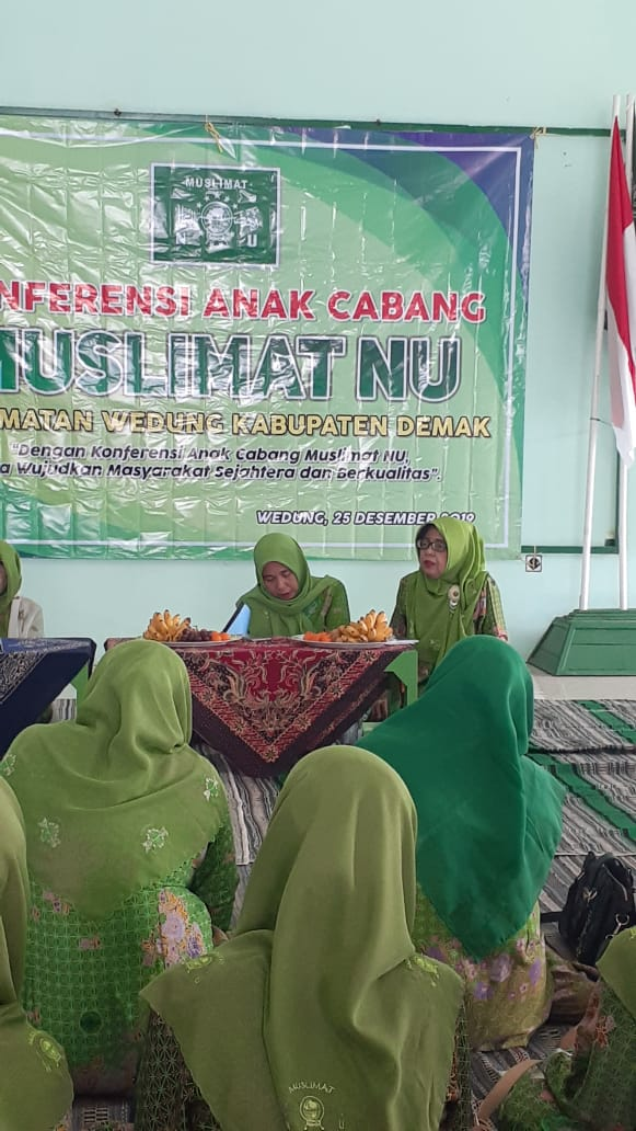 Konferensi Muslimat NU Wedung Demak