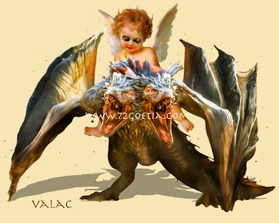 Valac the President of Hell in the Ars Goetia of the Lesser Key of Solomon