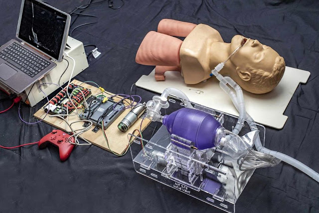 Nhóm nghiên cứu MIT phát minh máy thở dã chiến chỉ 100 USD