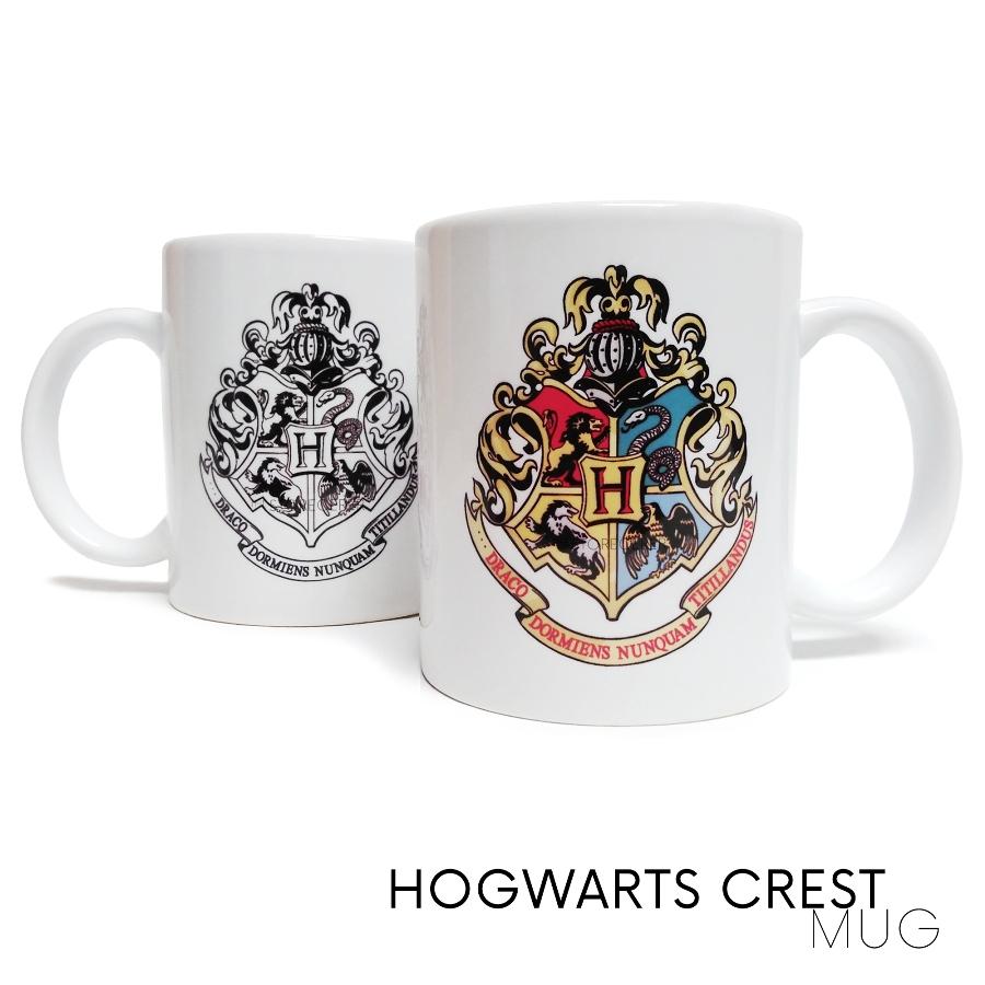 gelas hogwarts crest