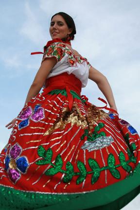 Educación Artística Promotoría Teotihuacan: VESTUARIOS DANZA