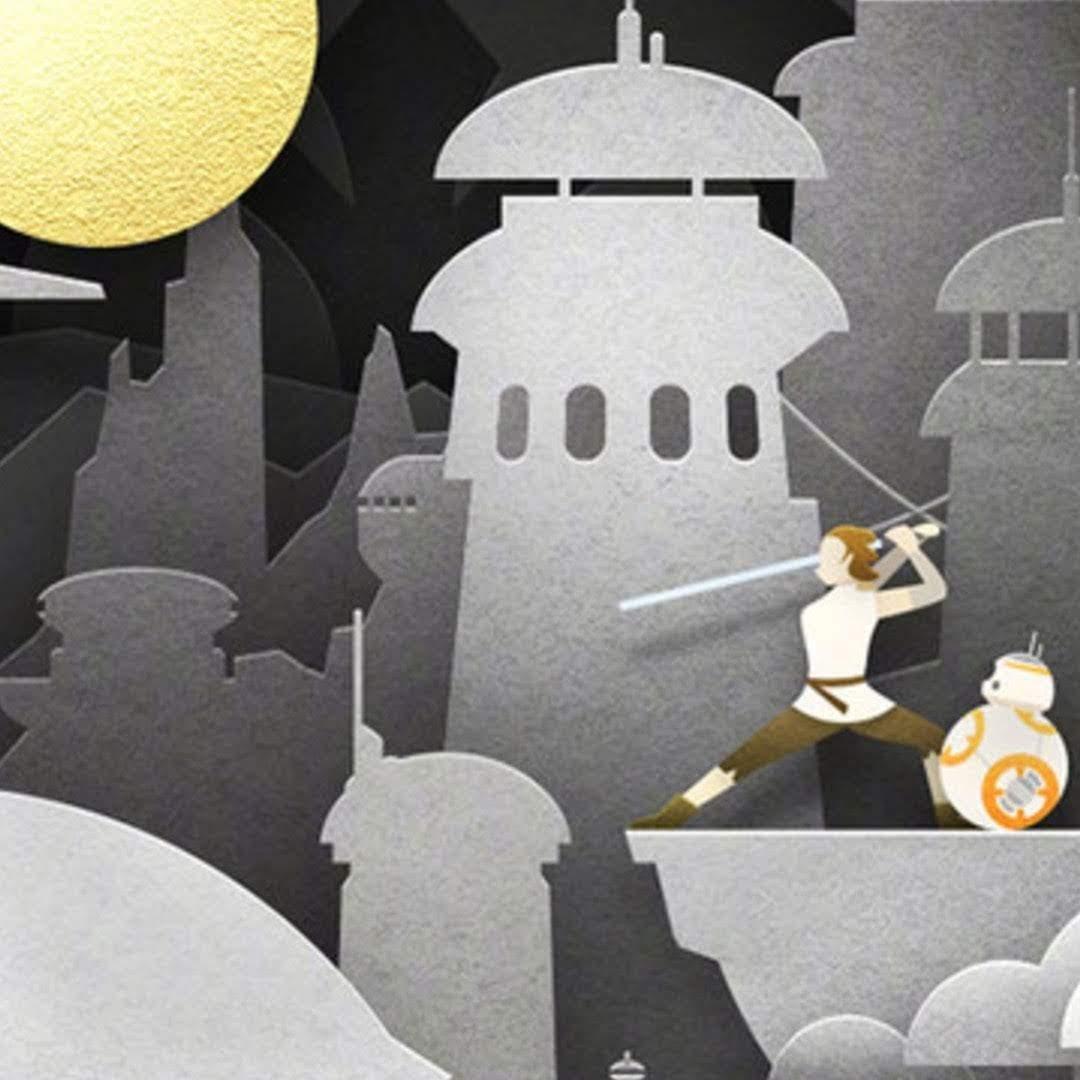Star Wars Chinese Mid-Autumn Festival Poster :「スター・ウォーズ」の完結編「ザ・ライズ・オブ・スカイウォーカー」が、中国の中秋節をお祝いした新しいポスター ! !