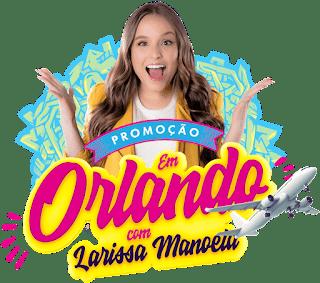 Promoção Tele -Sena Em Orlando Com Larissa Manoela!