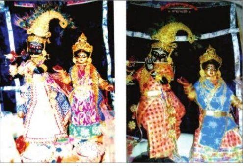 হেমন্তের শিশির ভেজা রাতে শান্তিপুরে রাসোৎসবের সূচনা{www.techxpertbangla.com}