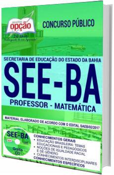 Apostila Concurso SEE-BA 2018 Professor de Matemática
