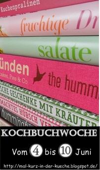 Zuckerschnuten-Blog: Kochbuchwoche bei der Zuckerschnute