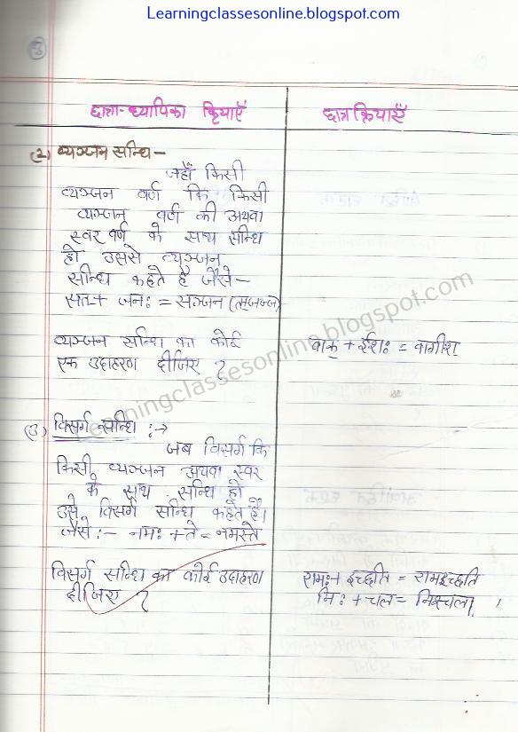 skill of explanation in sanskrit