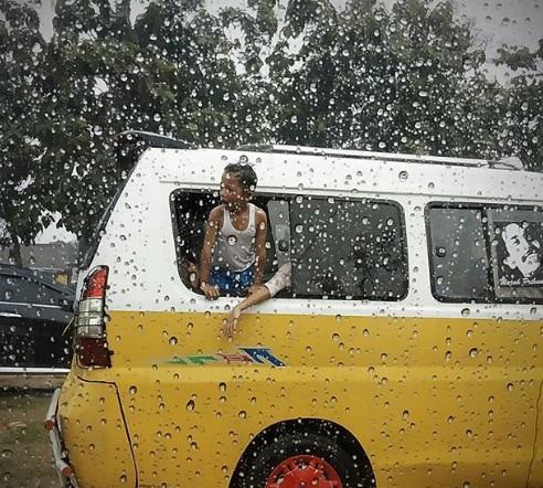 suasana hujan