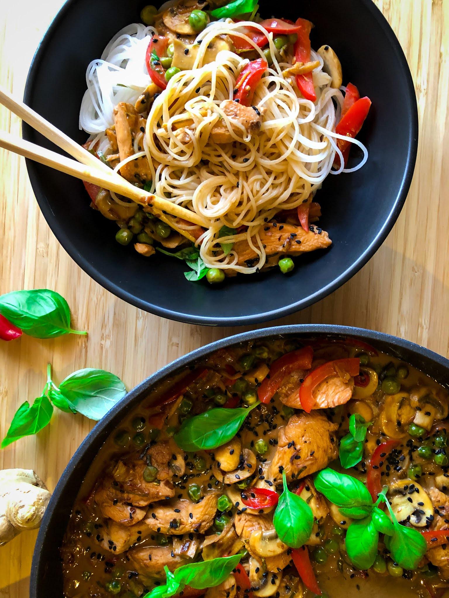 Danie kuchni tajskiej