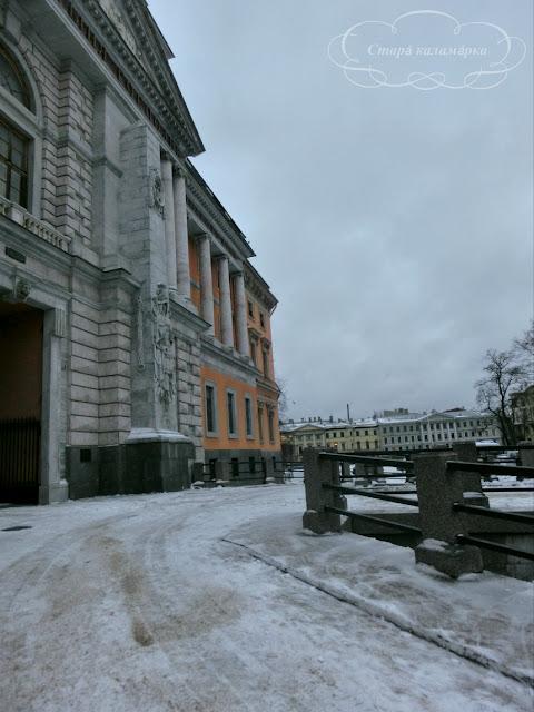 прогулки по Петербургу, зимний Питер