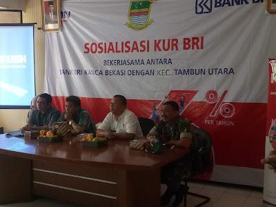 Masyarakat Tambun Utara Berharap KUR BRI Kancab  Karang Satria  Menghapus Bank Renternir