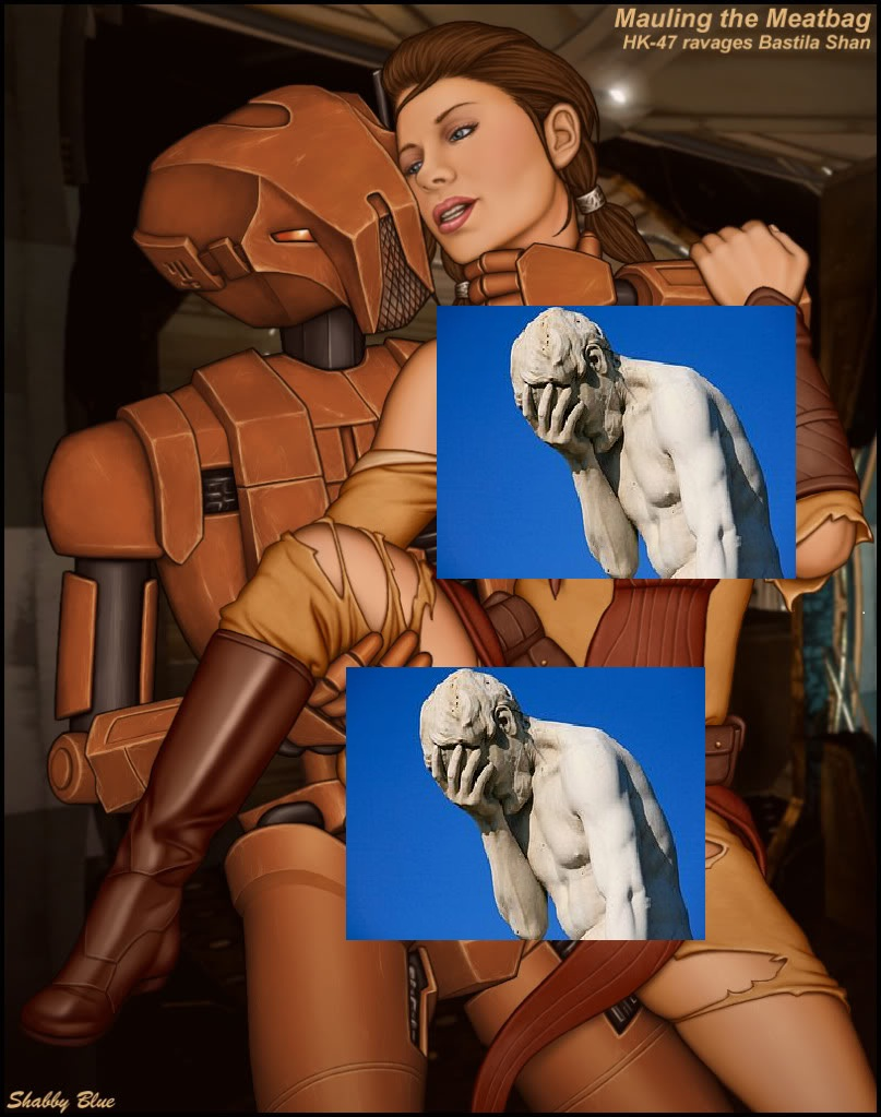 Back To The Future Porn Fanfic - Sassy Fan Fiction Analyses: HK-47 Uses Bastila as a Computer ...