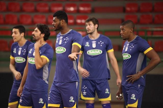 Sada Cruzeiro fará seu primeiro jogo em casa