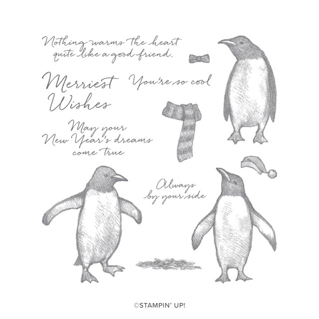 Craftyduckydoodah, Playful Penguins, Christmas 2019, StampinUp! UK Independent  Demonstrator Susan Simpson, Supplies available 24/7 from my online store,