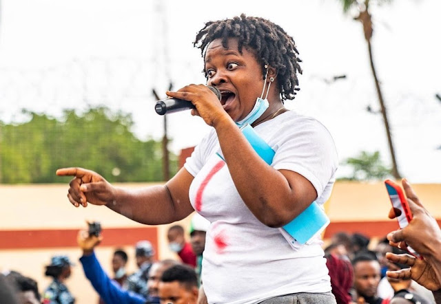 'FG, prepare the ransom as usual' - Savvy Rinu Reacts To The Zamfara School Kidnap