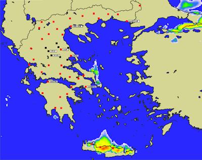 3 - Πρόγνωση Ελλάδας-Θεσσαλίας 21-23/1/2020 Βοριάδες, παγετός και ηλιοφάνεια