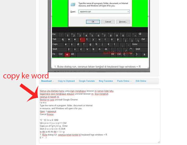 web online mengubah foto ataupun gambar menjadi text