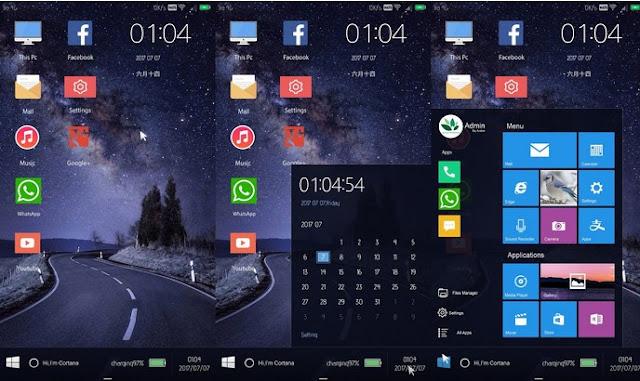 Kumpulan Tema Huawei HWT Keren - Windows 10