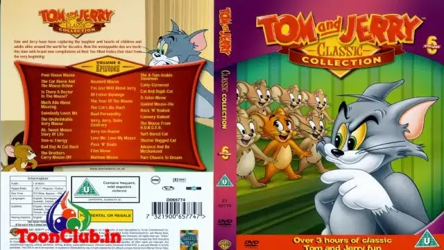 Tom and Jerry Classic Collection Cartoon Series In Hindi Dubbed Free Download