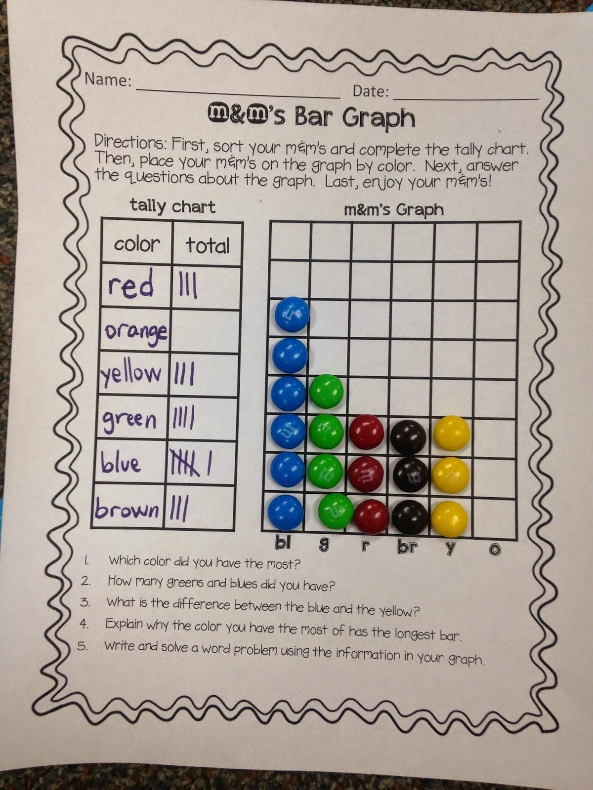 Mm Bar Graph Worksheet