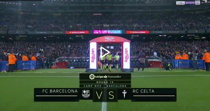 VIDEO: Barcelone 4:1 Celta Vigo / La Liga