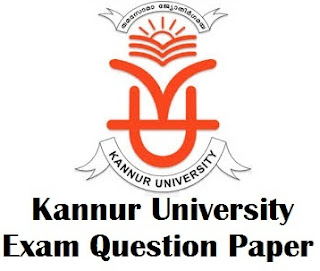 Kannur University Previous Year Question Paper