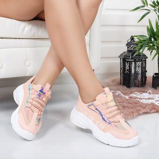 Pantofi sport Marely roz